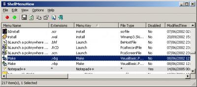 ShellMenuView 1.40 screenshot