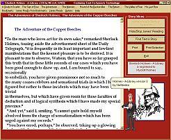 Sherlock Holmes - A Library 3.0 screenshot