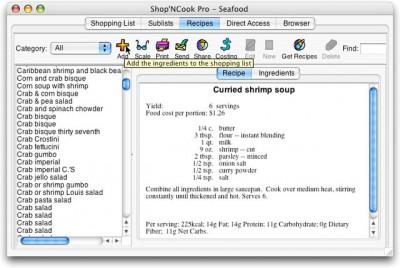 Shop'NCook Recipe Costing Pro 3.4.1 screenshot
