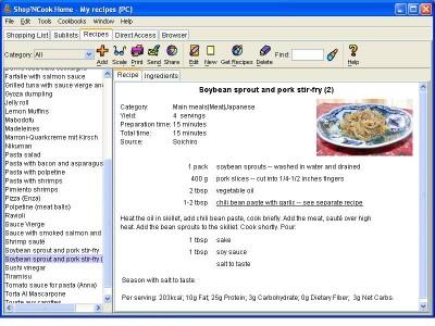 Shop N Cook Shopping List and Recipe 3.4.3 screenshot