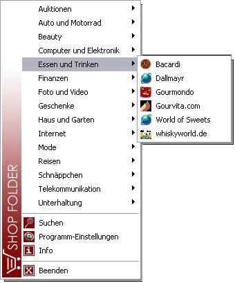 ShopFolder 2.2 screenshot