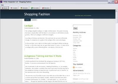 Shopping-Fashion 1.0 screenshot