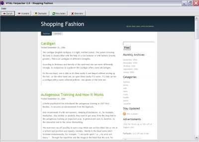 Shopping-Fashion 1.0 screenshot