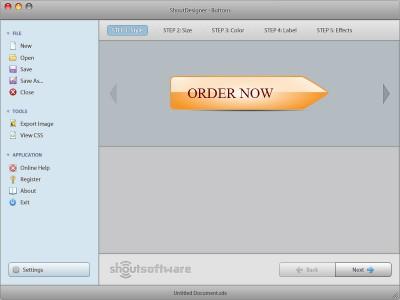 ShoutDesigner Button Creator 1.0 screenshot