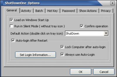 ShutDownOne 3.021 screenshot