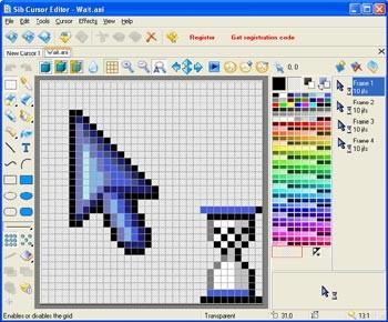 Sib Cursor Editor 3.13 screenshot