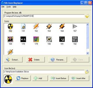 Sib Icon Replacer 2.32 screenshot