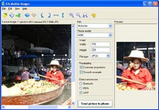 Sib Mobile Imager 2.01 screenshot
