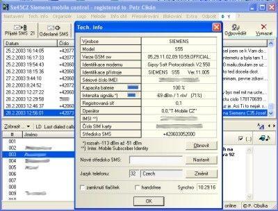 Siemens Mobile Control (SiMoCo) 2.2.8 - Позволяет работать с