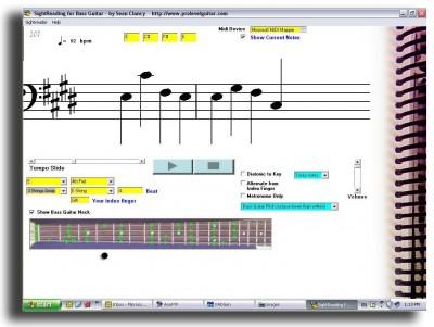 SightReader for Bass 1.1.0 screenshot