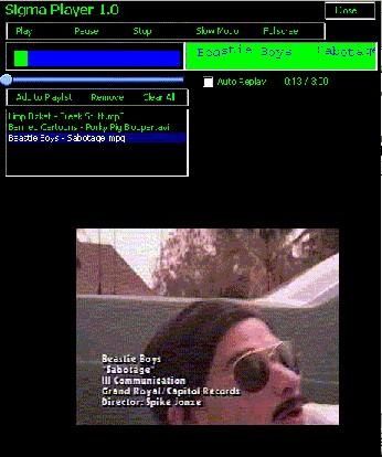 Sigma Player 1.0 screenshot