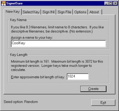 SignetSure 1.0 screenshot