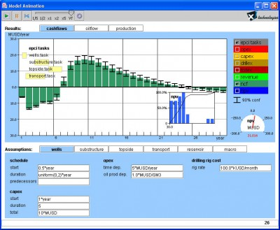 Simple Oil Field NPV Simulation Tool 0.1.3 screenshot