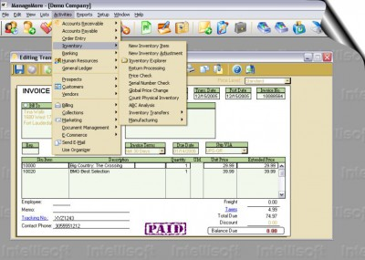 Simple Start Business Software 6.0 screenshot