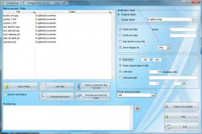 SimpleSizer 1.70 screenshot