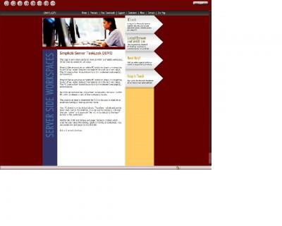 Simpliciti Locked browser 2.5.7.5 screenshot