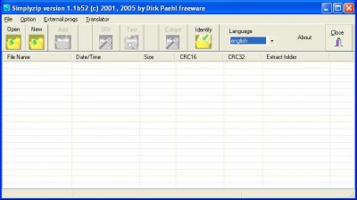 Simplyzip 1.1b82 screenshot