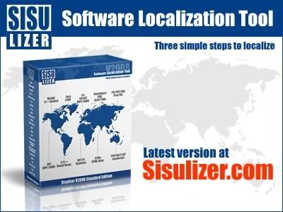 Sisulizer 3.0.340 screenshot