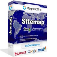 Site Map for osCommerce 1.3.6 screenshot
