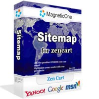 Site Map for Zen Cart 1.4.5 screenshot