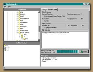 Site Refiner 2.0 screenshot