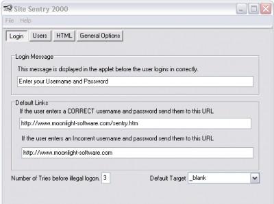 SiteSentry 1.4 screenshot