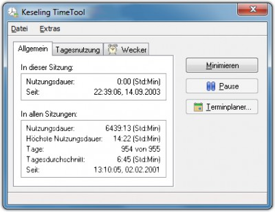 SKS TimeTool 2.9.2 screenshot