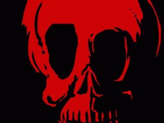 Skull Bulbs Halloween Wallpaper 2.0 screenshot