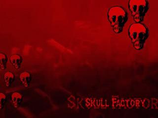 Skull Factory Halloween Wallpaper 2.0 screenshot