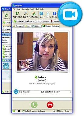 Skype 1.3.0.53 screenshot
