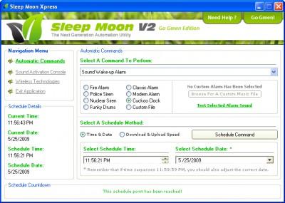 Sleep Moon Xpress 2.0.0 screenshot
