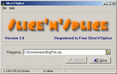 Slice'n'Splice 3.0 screenshot