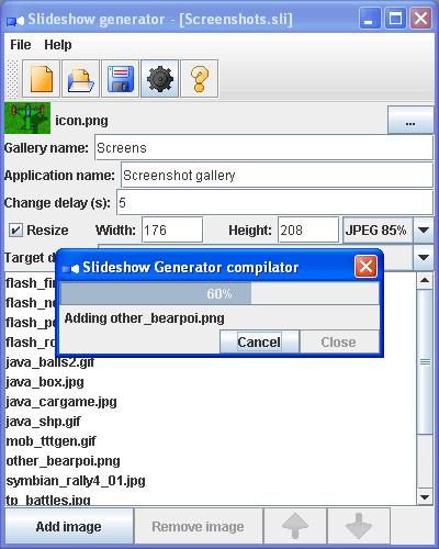 Slideshow Generator for Windows 1.00 screenshot