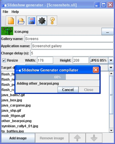 Slideshow Generator 1.00 screenshot