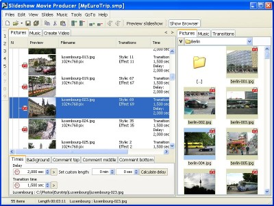 Slideshow Movie Producer 1.8 screenshot