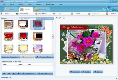 SlideWow Free Slideshow Maker 1.01 screenshot