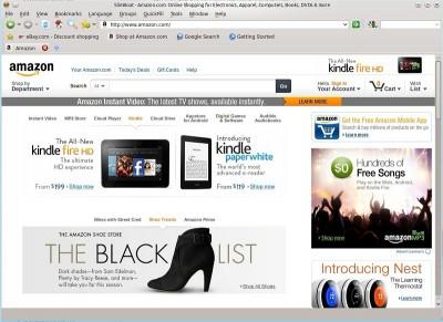 SlimBoat Web Browser for Linux 32bit 1.1.53 screenshot