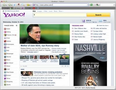 SlimBoat Web Browser for Mac 1.1.53 screenshot