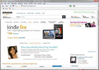 SlimBoat Web Browser for Windows 1.1.53 screenshot
