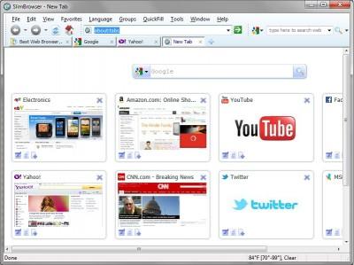 SlimBrowser 12.0.0.0 screenshot