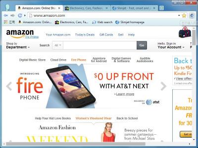 Slimjet Web Browser 19.0.6.0 screenshot