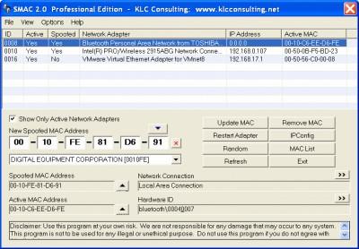 SMAC 2.0.5 screenshot