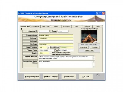 Small Business Management Professional Global Busi 2005 screenshot
