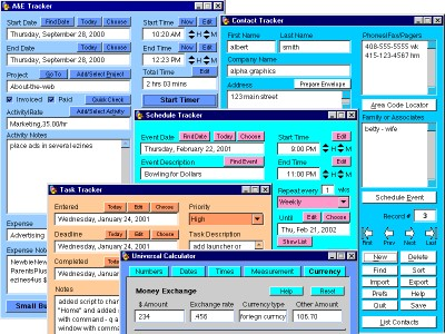 Small Business Tracker Deluxe 1.7.9 screenshot