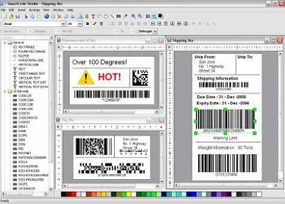 SmartCodeStudio Standard 3.1 screenshot