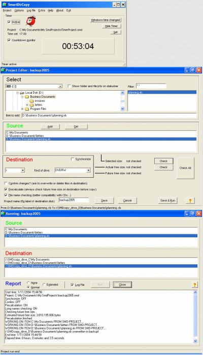 SmartDirCopy 5.0 screenshot