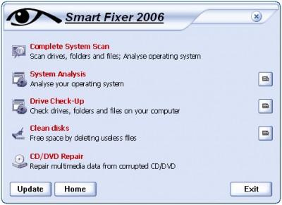 SmartFixer 2006 1.6.65 screenshot