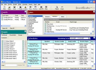 SmartRoster 4.0 screenshot