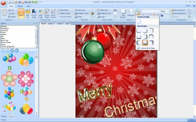 SmartsysSoft Greeting Card Designer 3.00 screenshot