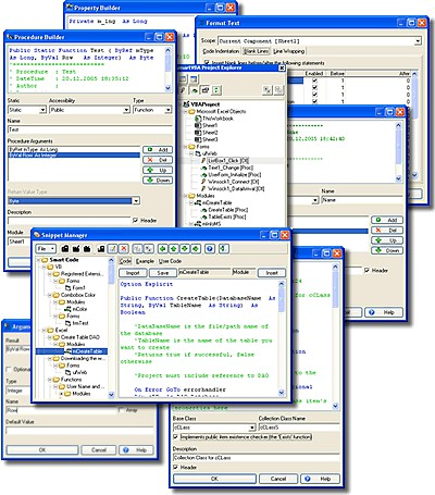 SmartVBA 2.0.5 screenshot